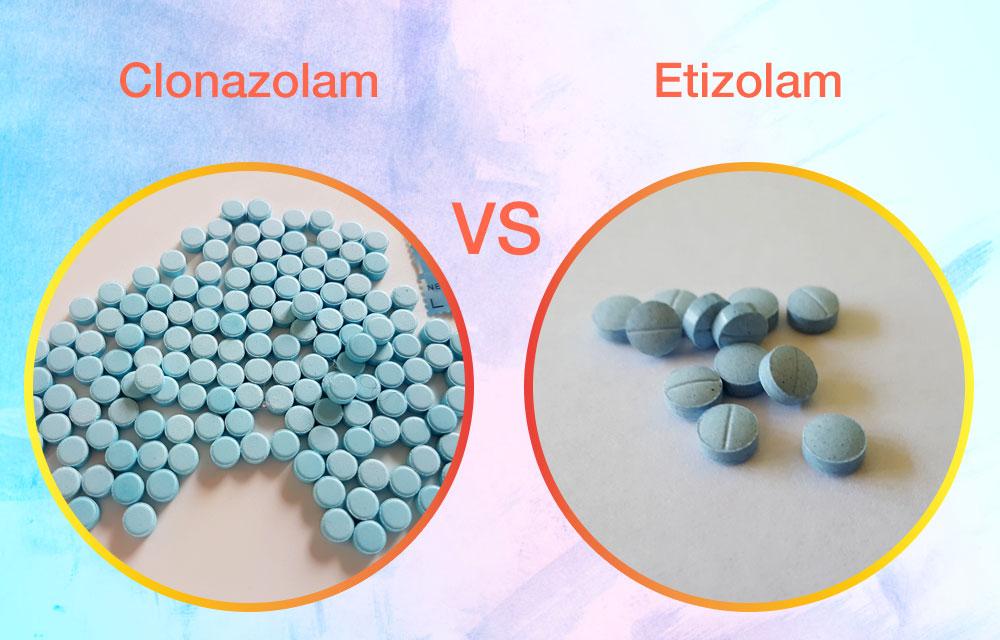 Clonazolam Vs. Etizolam