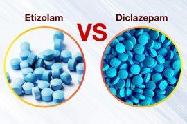 Diclazepam VS. Etizolam