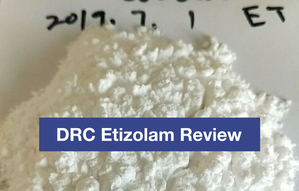 DRC Etizolam Review
