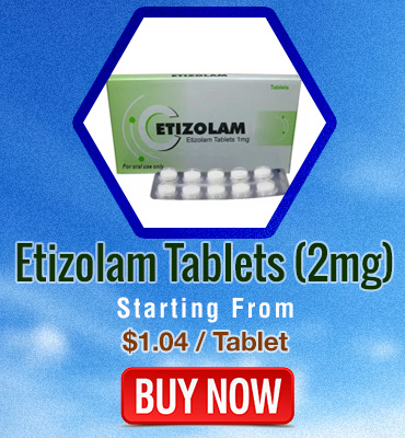 Etizolam Tablets 2mg